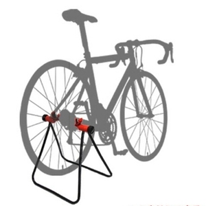 Mountain Bike Road Bike Triangle Vertical Stand Display Wheel Hub Bike Repair Stand Kickstand For Bicycle Repair Floor Stand(China)