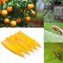 5 шт пакет ловушка для фруктов мухи 3 мл инструмент пчеловодства