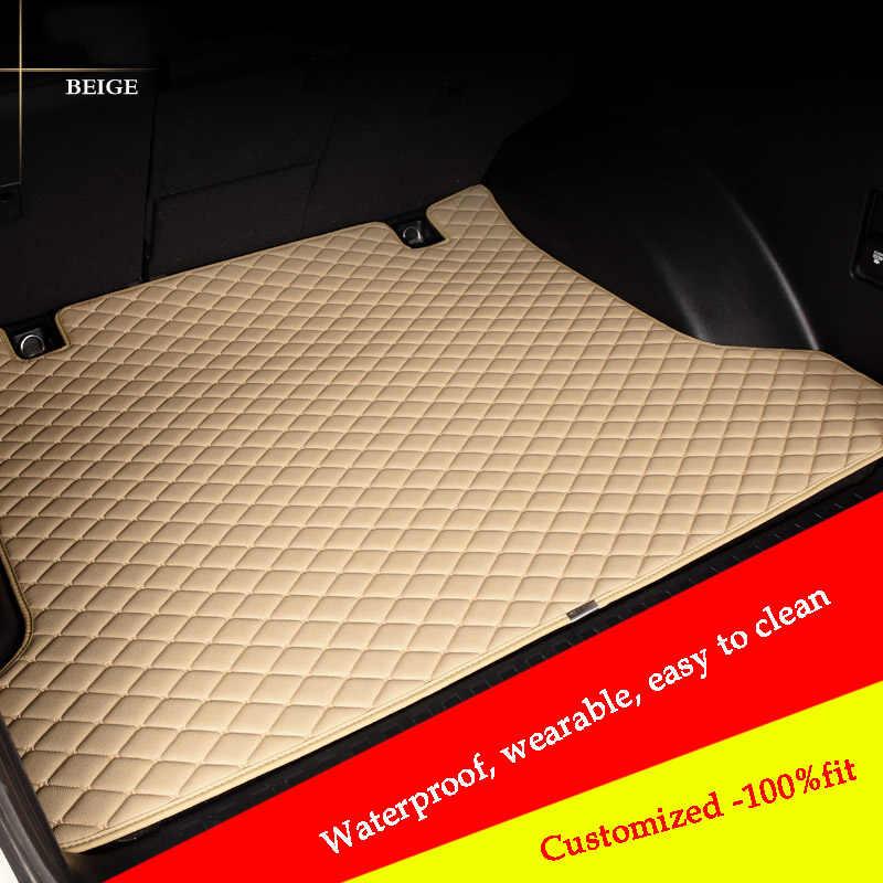 Niestandardowe Cargo Liner dla Chery A1/3/5 modele Tiggo Cowin Fulwin E3 E5 QQ3 6 V5 Tiggo samochodu mata do bagażnika