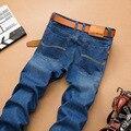 Nuevo Diseñador Sulee Denim Vaqueros Rectos de Los Hombres Clásicos pantalones de Mezclilla Precio barato de la Alta Calidad Famosa Marca Jean Pantalones Más El Tamaño 40