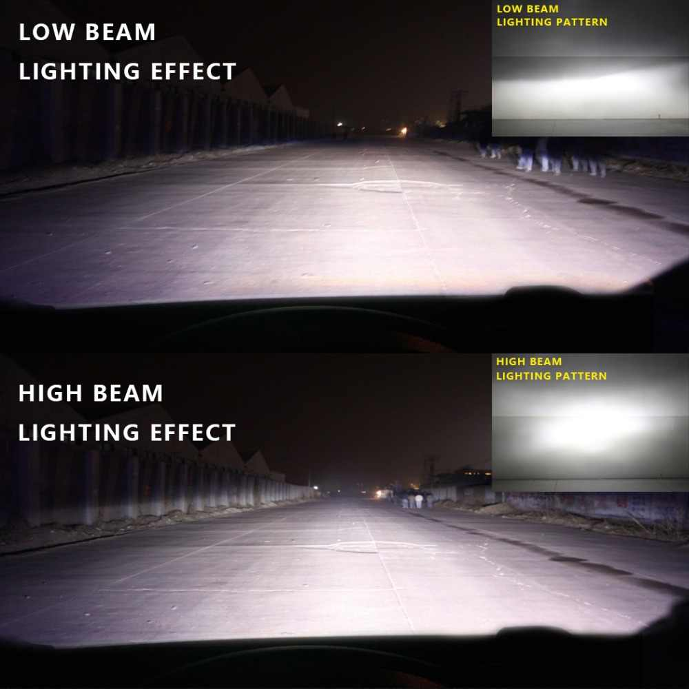 חדש כניסות LED H7 H4 H11 H8 HB4 H1 HB3 אוטומטי M3 רכב פנס נורות 110 W/Pair 15000LM רכב סטיילינג 6000K led automotivo 12V