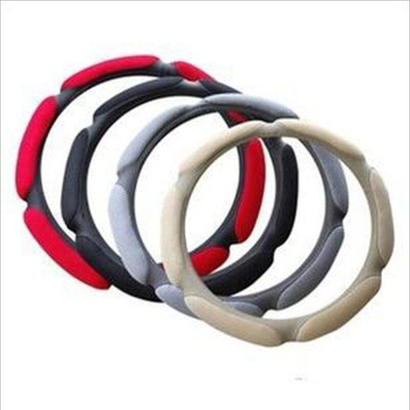 Car steering wheel cover For Nissan Sunny March Murano Geniss,Juke,Almera qashqai Car Accessories