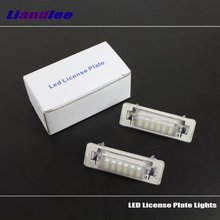 Liandlee For Mercedes Benz Smart City-Coupe / LED Car License Plate Light Number Frame Lamp High Quality Lights