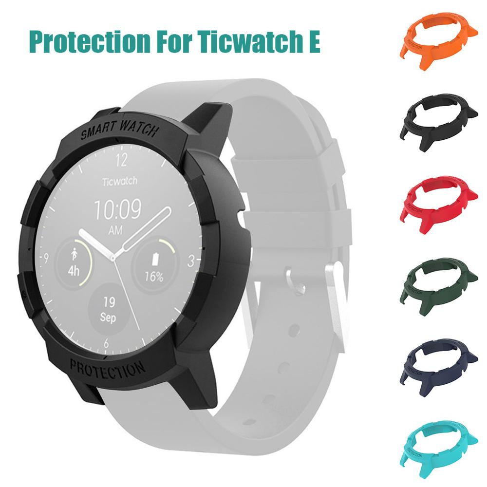 Ultra-Slim Scratch prevention Hard PC Case Cover Protection For Ticwatch E Smart watch anti-scratch Protective accessories #710(China)