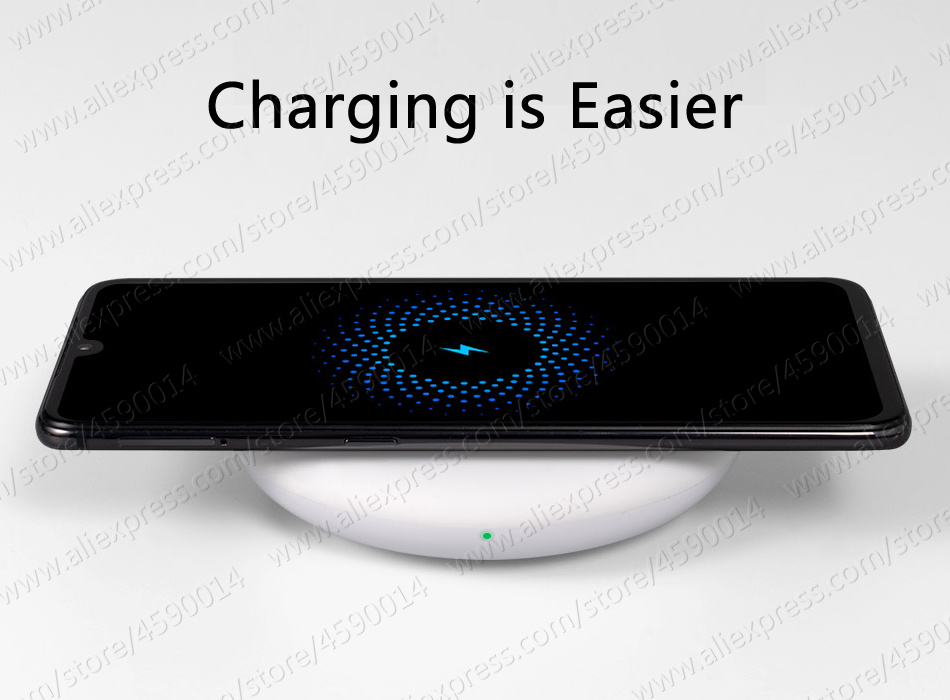in Stock 27W Plug Original Xiaomi Wireless Charger W Max 15V For Xiaomi Mi9 Charger S10 Plus Qi EPP10W For iPhone XS Max XR 9