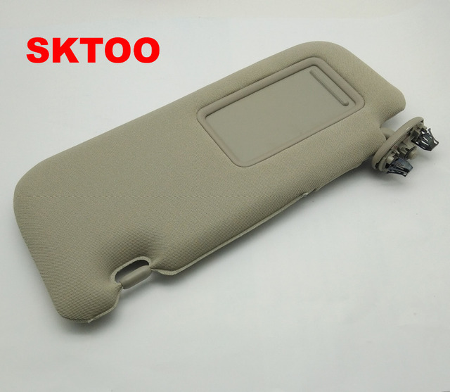SKTOO for Toyota 2007-2013 Corolla with a make-up mirror sun visor car sun  visor Without the sun visor lamp 028c36a44dd