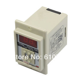 цена на Details about ASY-2D AC/DC 12V 99 Second Digital Timer Programmable Time Delay Relay White 8 Pins