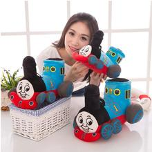 12inch 30cm Blue Tank Train Thomas & Friends Cute Stuffed Plush Toy No Music Doll Baby Girl Boy Birthday Gift 1pcs Free Shipping