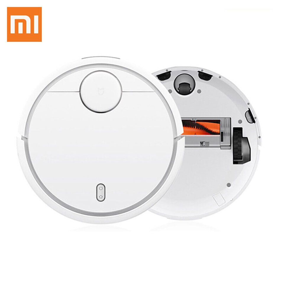 Xiaomi 1 Generation MIJIA Robot Vacuum Cleaner From Roborock, Robotic Suction and Sweeping with WIFI Remote Mobile Phone Control пенка tony moly tony lab ac control bubble foam cleanser объем 150 мл