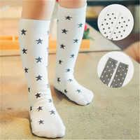 Baby Mädchen Cartoon Socken Junge Fußball Socken für Mädchen Baumwolle Schule Weiß Lange Socken für Kinder Schuhe für Mädchen Unisex kleinkind