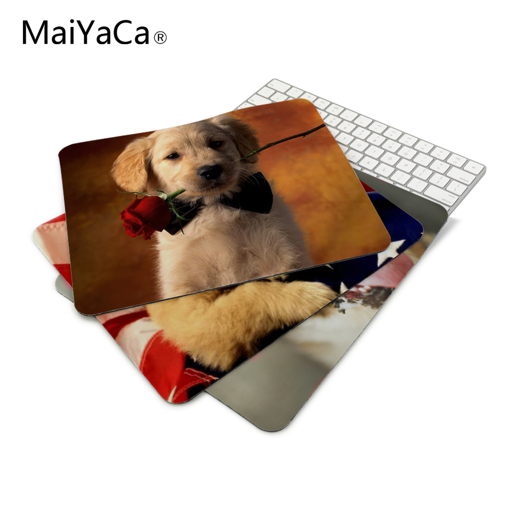 Hot Cute Custom Pug Dog Coe Mouse Pad aming ear Durable Anti-Slip Rubber Mousepad for PC Optal Mouse