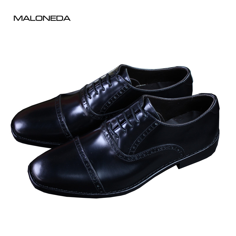 MALONEDA Brand New Custom Made Men's Wedding Party Wear Shoes Handmade Genuine Leather Dress Shoes with Goodyear Welted yoni egg massager crystal roller wand ben wa balls tiger eye pleasure jade egg for women kegel exercise vaginal muscles tighten