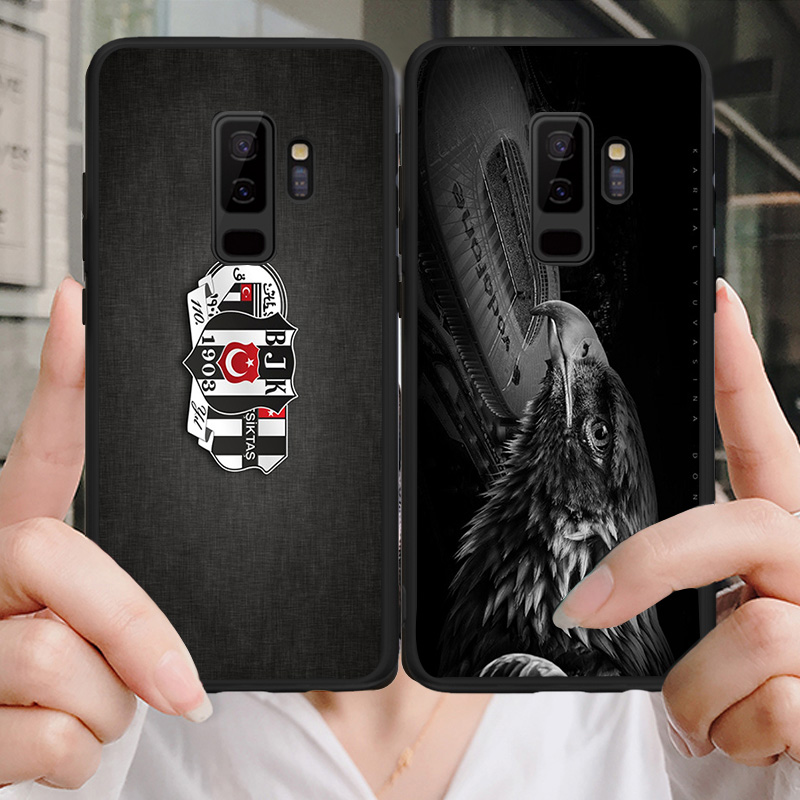 Yinuoda Phone Case Besiktaş Futbo Kulubu Yilmaz For Galaxy S10 S9 Plus S6 S7 Edge Black Soft TPU DIY Case For Galaxy Note4 Note9 in Half wrapped Cases from Cellphones Telecommunications