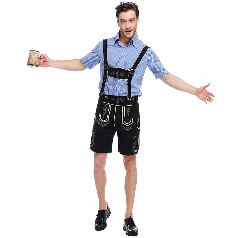 Adult Men's Oktoberfest Traditional Deluxe Rutger Bavarian Costume