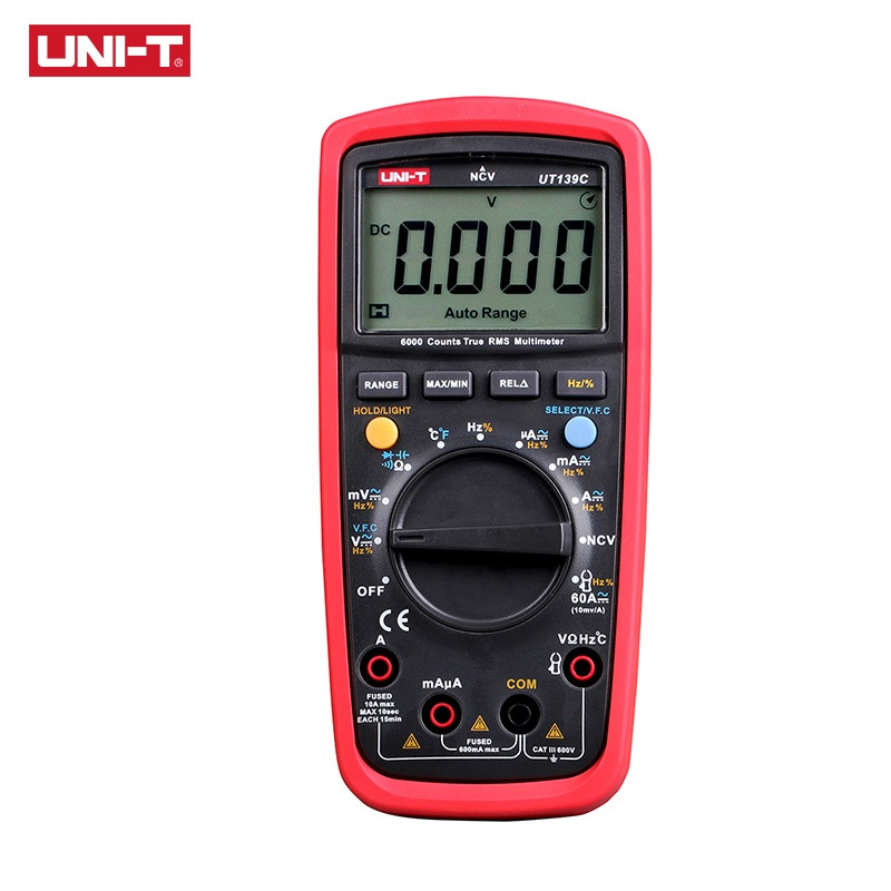 UNI T Digital Multimeter UT139 Series True RMS LPF Low Pass Filter LoZ AC DC V