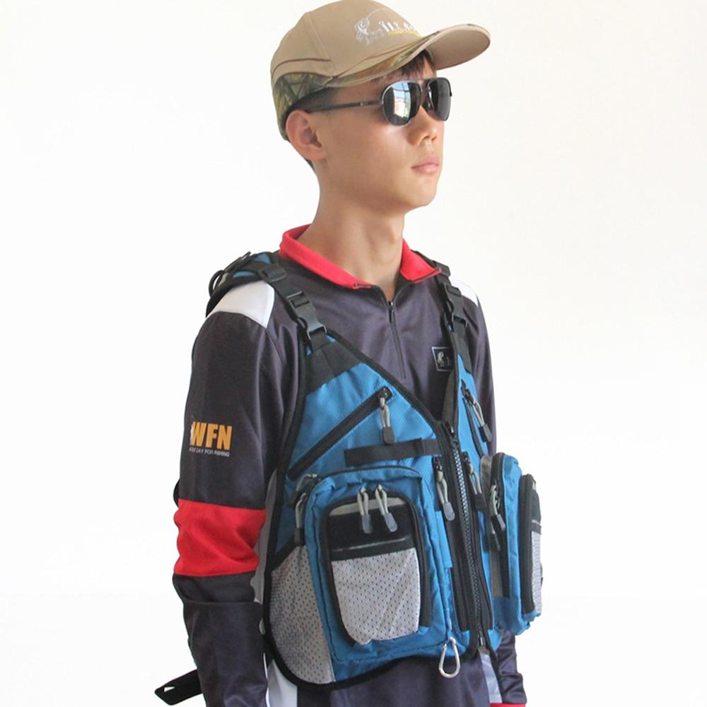 ФОТО multi-function Canvas Fishing Backpack Bags Saddle bag waterproof tackle Lure hook tool box accessories bag