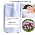 Free shipping 200g/bag Valeriana Officinalis Extract powder improves deep sleep