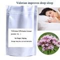 Free shipping 200g/bag Valeriana Officinalis Extract powder improves deep sleep