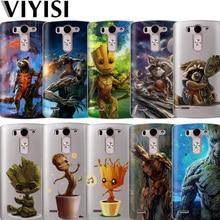 VIYISI Rocket Raccoon For LG G6 Case G4 G5 Q8 Q6 K8 K7 K10 2017 XPower 2 Groot Silicona casos para Coque Cover Carcasas Capas