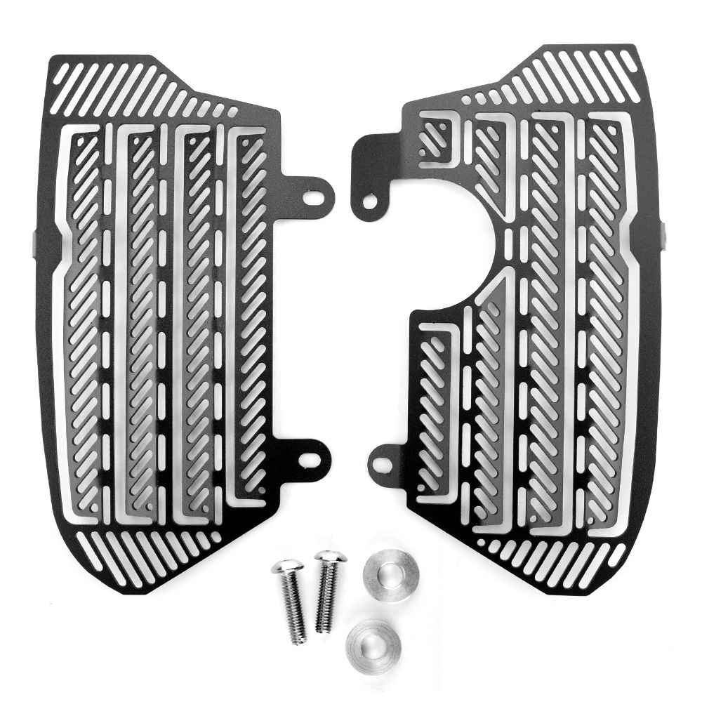 Areyourshop Motorcycle Radiator Grille Guard Cover Protector For Honda CRF1000L Africa Twin 2016 2018 2017 Motorcycle