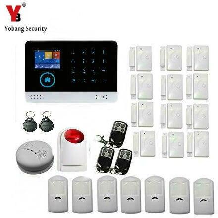 YobangSecurity Wireless WIFI GSM / SMS RFID Communicating Intruder Burglar Home Alarm System communicating science