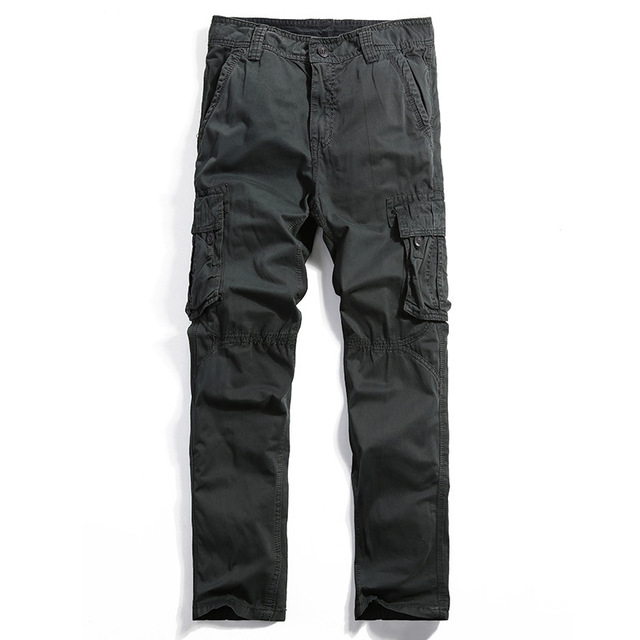 High Quality Tactical Pants Men Cotton Military Casual Cargo Men Pants Pantalon Hombre