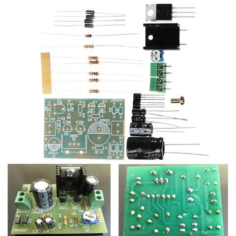 24Pcs/Set Series Transistor Regulator Power Supply Kit Voltage Regulator Module Electronic Component Board DIY Kit Pakistan