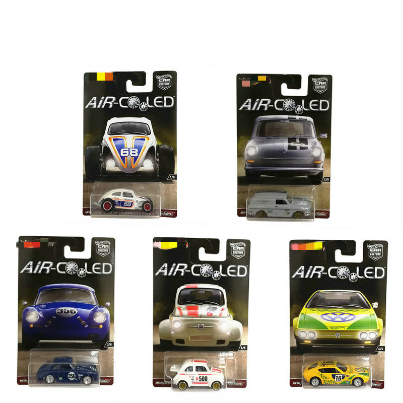 Hot Of Wheels 1:64 Sports Car Air Coled Collective Edition Metal Material Race Car Collection Alloy Car Gift For Kid