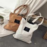Freies Verschiffen MIWIND Weiche Faltbare Tote Große Kapazität Leinwand Tasche Frauen Einkaufstasche Damen Täglichen Gebrauch Handtaschen Tote WUSL08