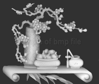 3d Modell für CNC Maschine oder 3D Drucker in BMP Dateiformat ...