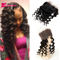 Pre Plucked 360 Lace Frontal Closure Brazilian Lace Frontals With Baby Hair Loose Wave 360 Full Lace Frontal Natural Hairline