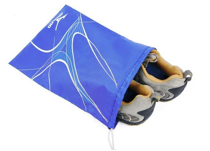 Top Selling Custom Printed Cheap Recycled Shoe Bag Cheap Drawstring Polyester Bag