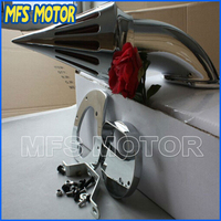 Запчасти для мотоциклов Спайк очиститель воздуха фильтр для Yamaha V Star 1100 драгстар XVS1100 1999 2012 ХРОМ
