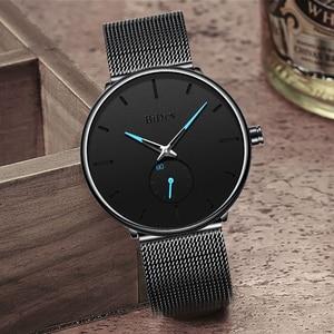 Image 3 - BIDEN Mens Analog Quartz Watches Men Luxury Business Watch Fashion Simple Wristwatch Male Waterproof Clock Relogio Masculino
