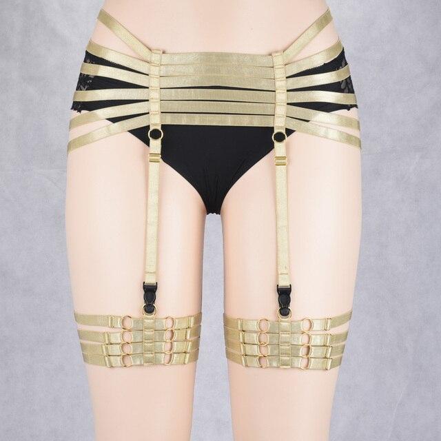 JLX.HARNESS Bondage Harness Lingerie Bondage Shorts Pole dance Go Go dance Exotic shorts fetish BDSM gothic style P0180