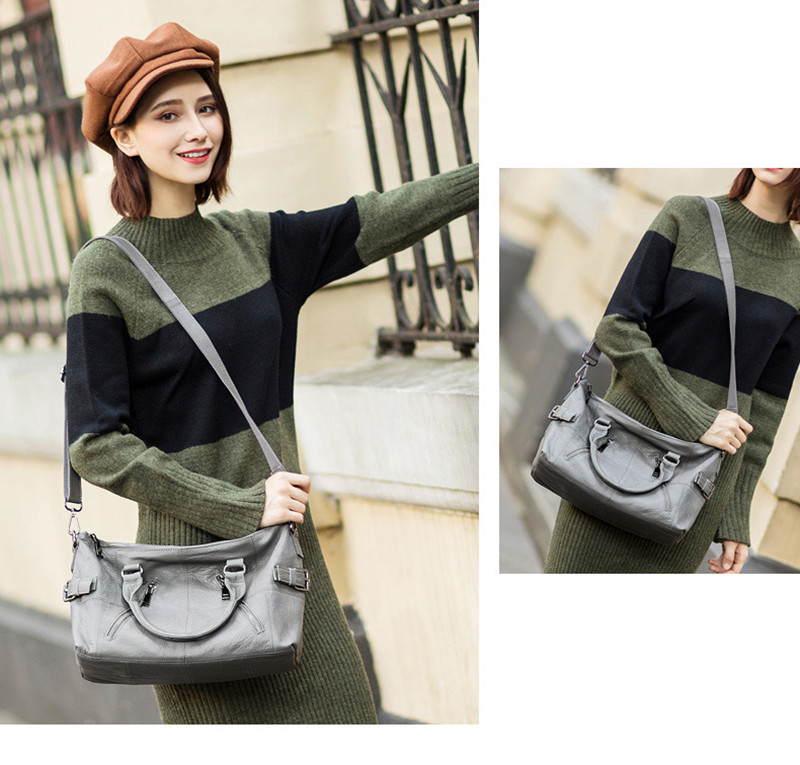 should bags women model gray