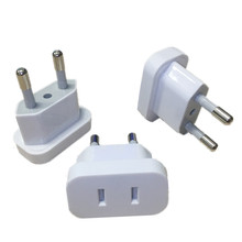 1pcs US To EU Euro Europe Plug Power Plug Converter Travel Adapter US to EU Adapter Electrical Socket
