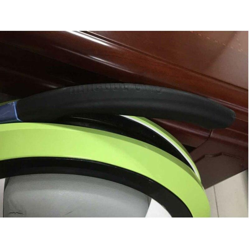 En plastique poignée supérieure pour Ninebot une C, C +, E, E + solo roue scooter Complices noir poignées en plastique