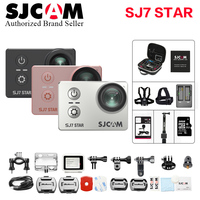 100 Original SJCAM SJ7 STAR Wifi 4k 2 Touch Screen Ambarella A12S75 30M Waterproof Remote Sports