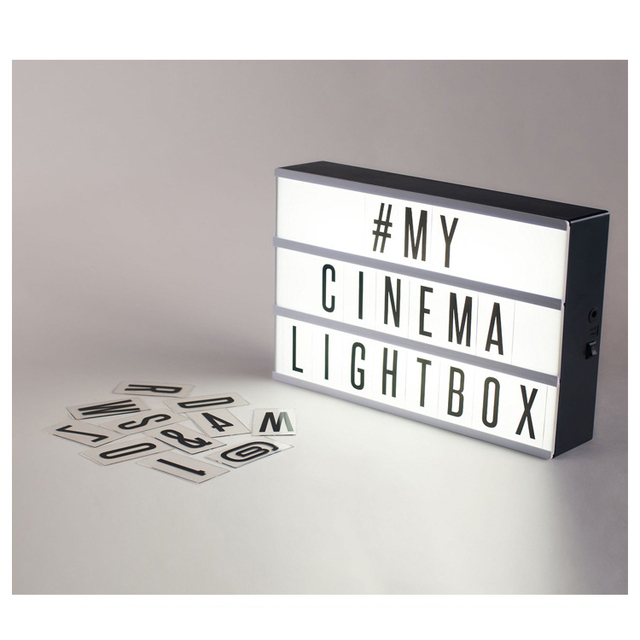Diy lampe lettre - Lightbox amazon ...