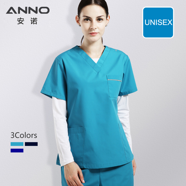 4547749dfb6 Nursing Uniforms Medical Supply Blue Nurse Uniforms For Women And Man Medical  Scrubs Hospital Wear Dentistry Suit Beauty salon