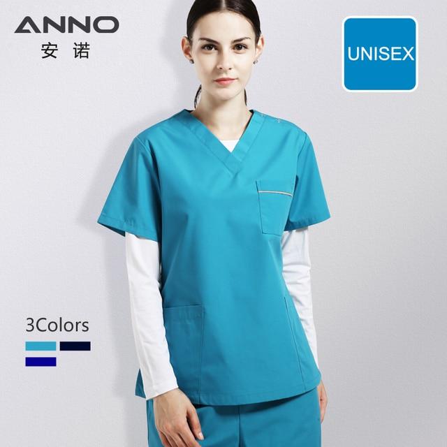 online store 4d4a6 14778 Nursing Uniforms Medical Supply Blue Nurse Uniforms For Women And Man Medical  Scrubs Hospital Wear Dentistry Suit Beauty salon