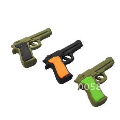 New Arrival Weapon Promotional Eraser,fast Delivery