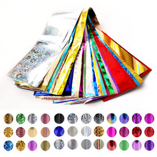 цена на 4cm*30cm Transfer Foil Nail Art Star Design Stickers for Nails Foil Polish Care DIY Beauty Nail Wraps Free Shipping