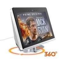 Newest Aluminum Protector Base Mount Bracket Stand for Amazon Echo Show 2nd 360 Swivel Speaker