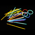 10pcs Colorful Glow Sticks Disposable Sticks/Liquid Glowing Sticks Colorful Flashing Glow Stick Light Up Stickers in the dark