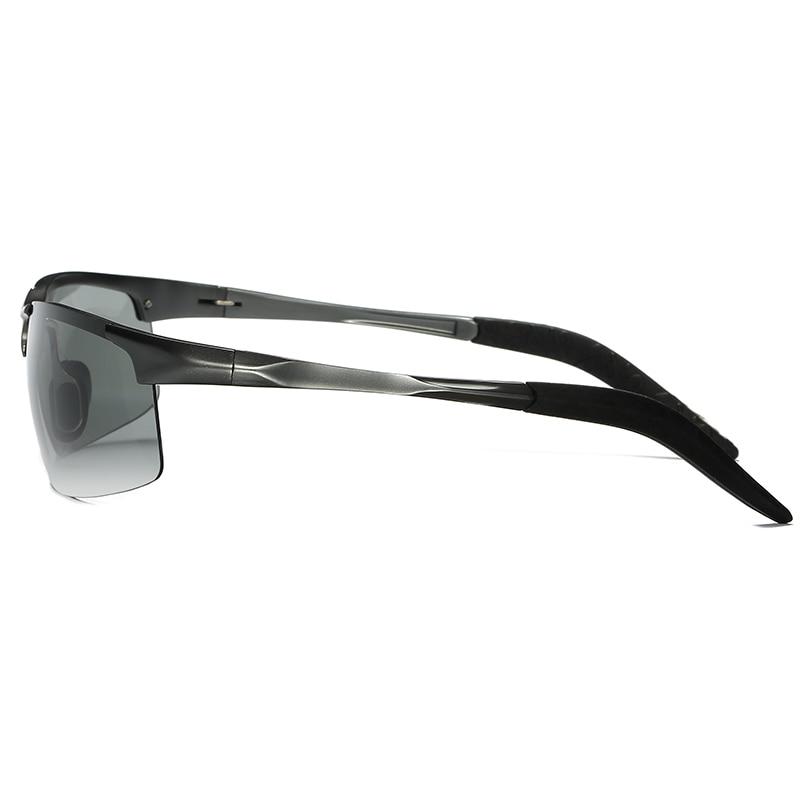 Image 5 - ZJHZQZ Mens UV400 Fishing Polarized Photochromatic Sunglasses Aluminium Magnesium Outdoor Driving Transition Chameleon LensMens Sunglasses   -