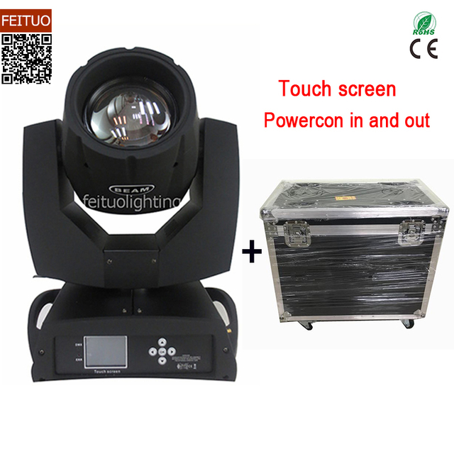 Beam 230 Clay Paky Sharpy Spot Moving Head Lyre Beam 7r Moving Head 230W Beam Flycase DMX Lumiere DJ Disco Party Stage Lighting