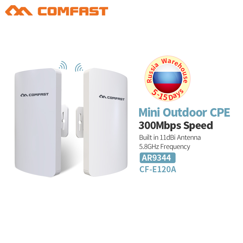 1-3km Long Range Wifi Outdoor Cpe Wifi Router 2,4 Ghz, 5 Ghz 300 Mbps Wireless Router Im Freien Wifi Cpe Brücke Repeater Access Point