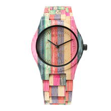 BEWELL 2017 мода полный бамбук дерево часы женские часы Топ люксовый бренд для женщин Подарки, женские часы Relogio feminino saat